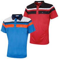 55% OFF RRP Calvin Klein Golf Mens CK Tour Tralee Colour Block Tech Polo Shirt