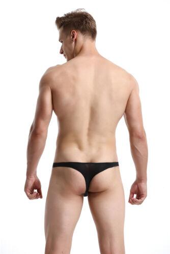 Men/'s G-String Thin Breathable Lightweight Seamless Bikini Underwear Bulge