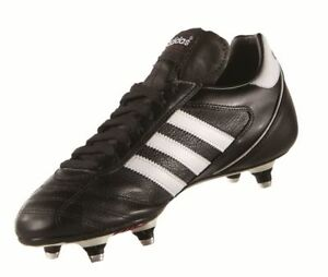 sports shoes 3ff10 6a13e Football crampons Hommes Rouge Chaussures Adidas Noir à Five Cup Kaiser  Blanc tTYqawg