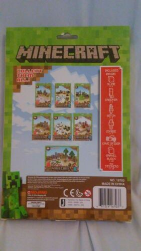 Hostile Mobs or Animal Mobs Choice of Utility Minecraft Overworld Paper Pack