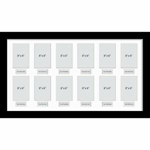 Large-Multi-Picture-Photo-Aperture-Frame-Fits-12-Photos-Of-Size-8-X-6