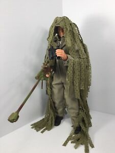 1/6 Hasbro Us Modern Sniper Ghillie Suit Full Camo Bbi Did Dragon 21e siècle