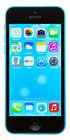 Apple iPhone 5c - 8GB - Blue (Sprint) A1456 (CDMA + GSM)