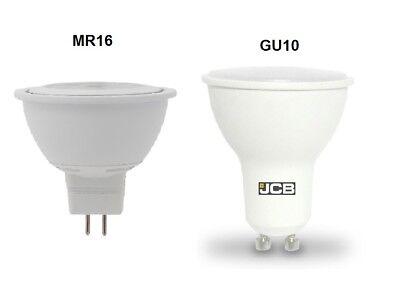 MR16 4.6w 7.8w Blanco Calido Frio Natural Spotlight PACKS Bombilla GU10 3w 5w