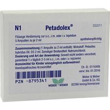PETADOLEX Ampullen -  5x2 ml   PZN8795341