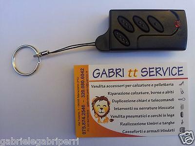 Radiocomando Universale 433,92 REMOTE CONTROL FIXED FREQUENCY GATE Self learnin