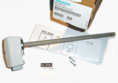 Siemens - - - Siclimat KTF - Kanaltemperaturfühler - 2b59bc