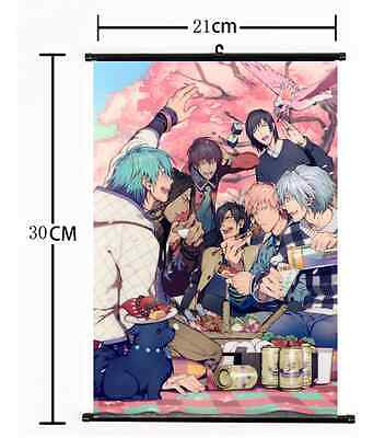 Hot Anime DRAMAtical Murder Wall Poster Scroll Home Decor Cosplay 827