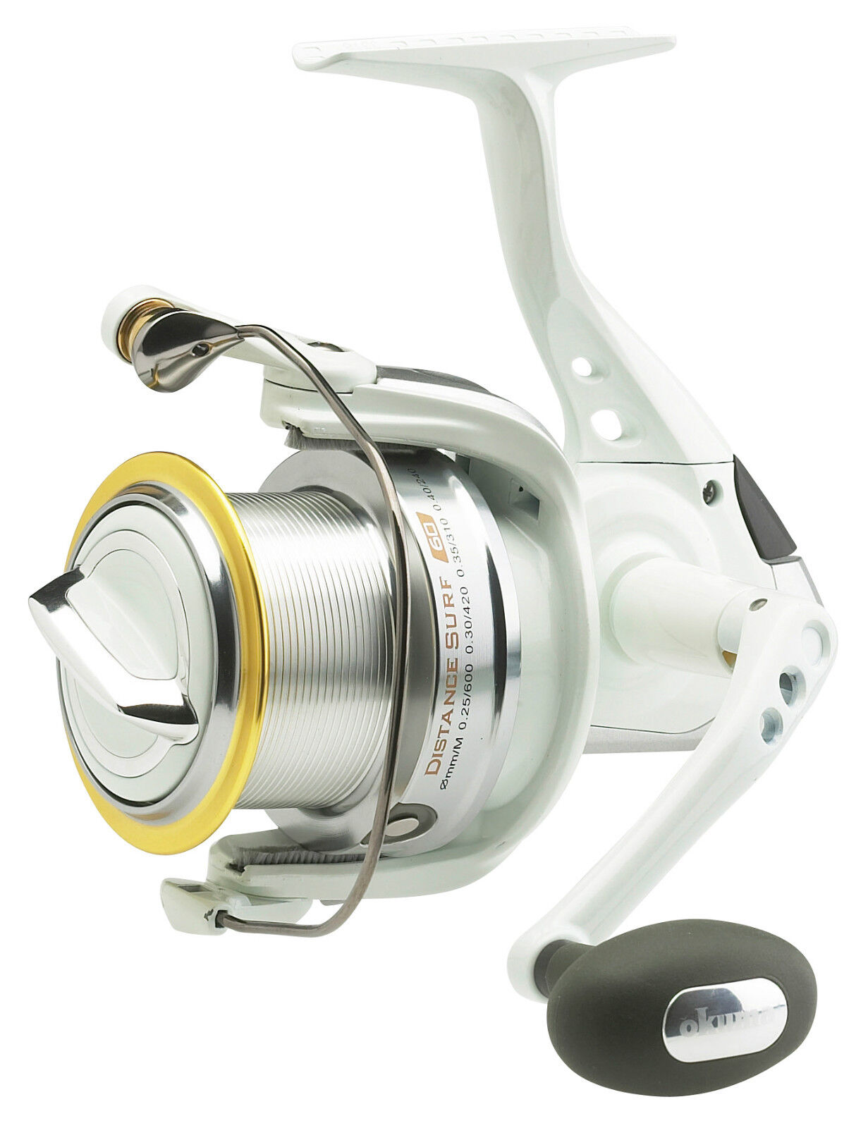 OKUMA DISTANCE SURF DS80 FRONT FIXED DRAG FIXED FRONT SPOOL REEL SALTWATER BEACH BIG PIT SEA 243047