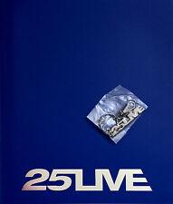 GEORGE MICHAEL * 25 LIVE EUROPEAN TOUR PROGRAMME w/ KEYRING * 2006 * BN&M!