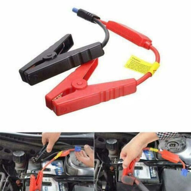 8 AWG Car LED Emergency Lead Cable Battery Alligator Clamp Clip For Jump Starter