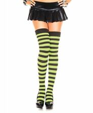4a71d8789 item 5 Wide Striped Thigh High Stockings - Music Legs 4701 -Wide Striped  Thigh High Stockings - Music Legs 4701