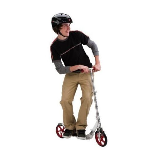 Razor Kick Scooter A5 Lux Wheel Kids Boys Girls Adult Adjustable handlebars Red