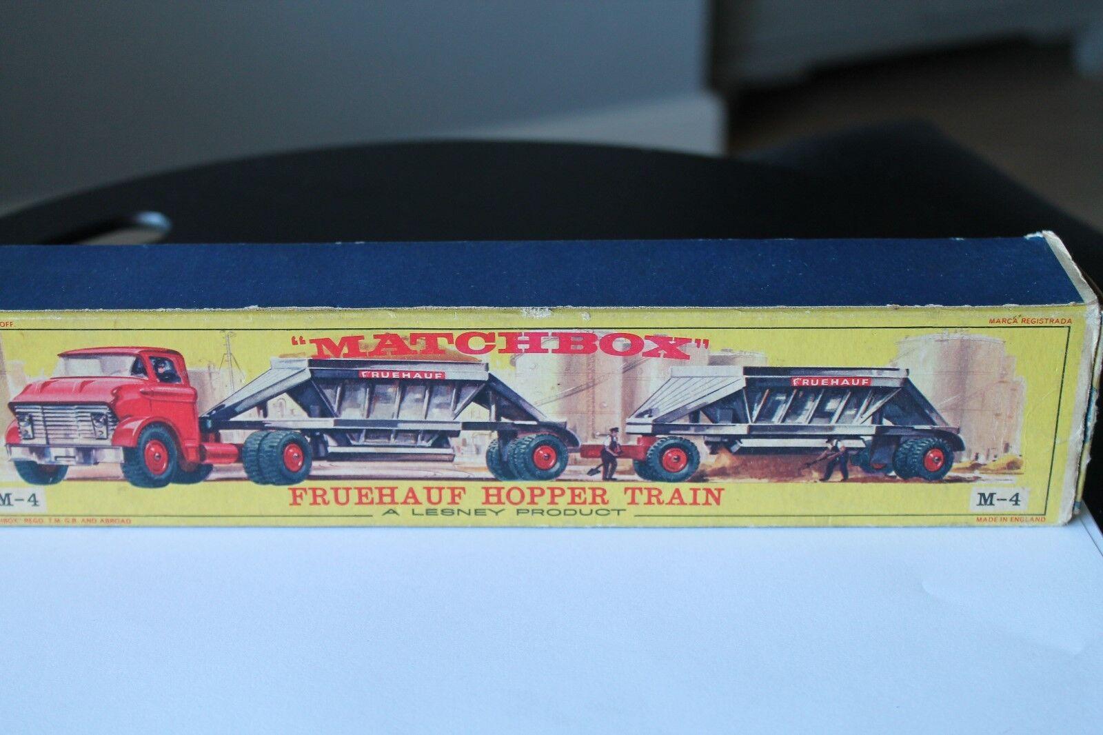 Matchbox  m-6 gmc Fruehauf Hopper Train  OVP