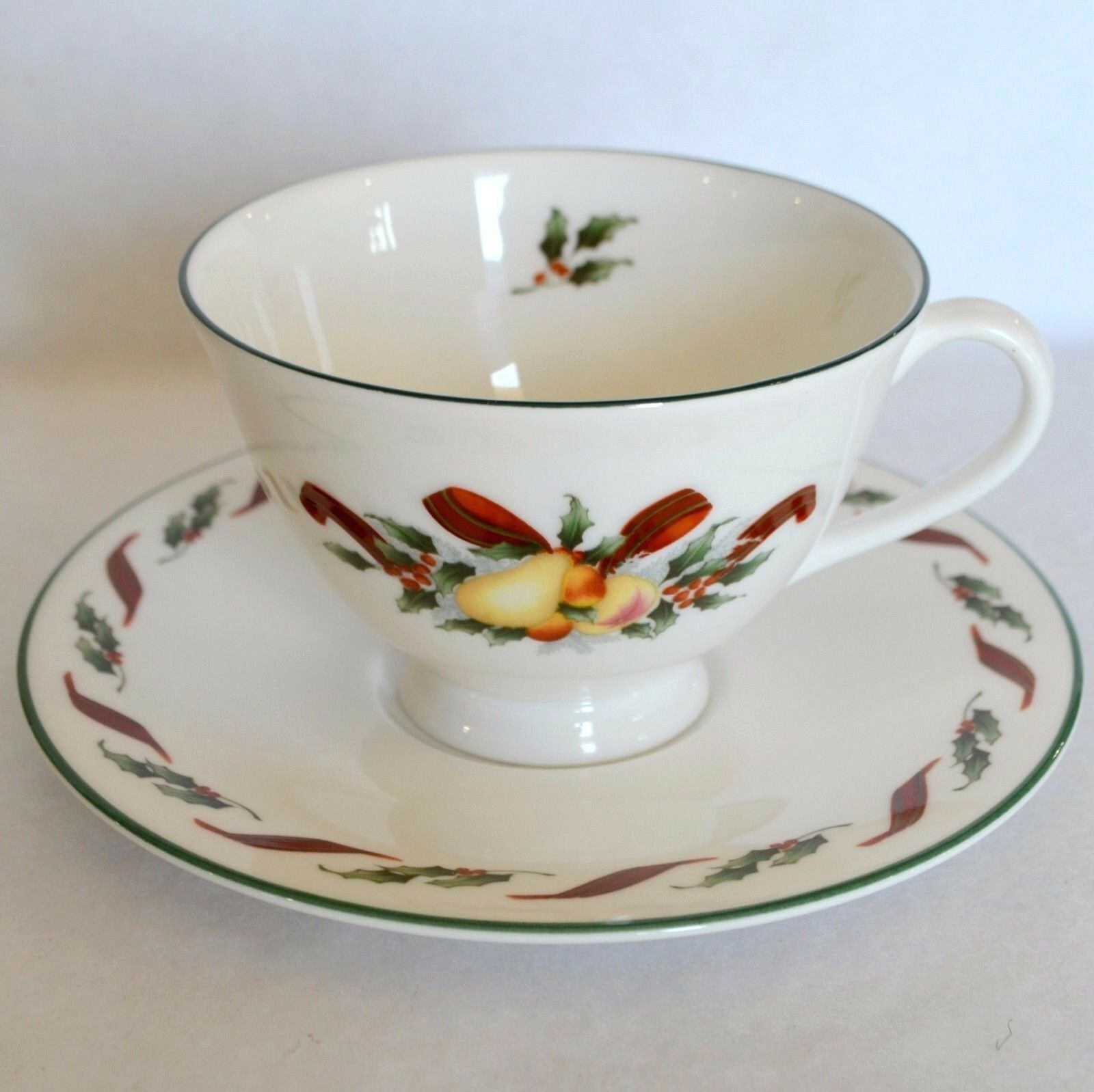 1990 Royal Doulton Festival H5167 Christmas Cup Saucer Dessert Plate For Sale Online Ebay