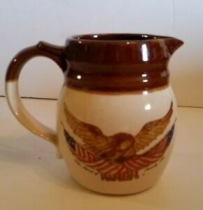 Vintage Collectible Souvenir Eagle Pitcher National Gallery Art Washington DC