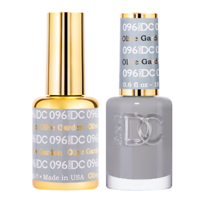 Details about DND DC DUO GEL , 096 OLIVE GARDEN