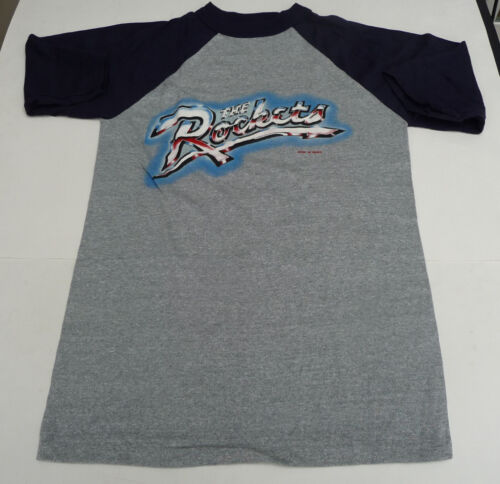 Vintage original 1982 concert t shirt THE ROCKETS
