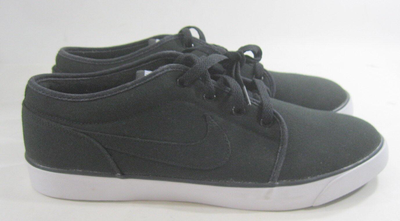 Nike Coast Classic Canvas Sneakers Noir /blanc 443687-001