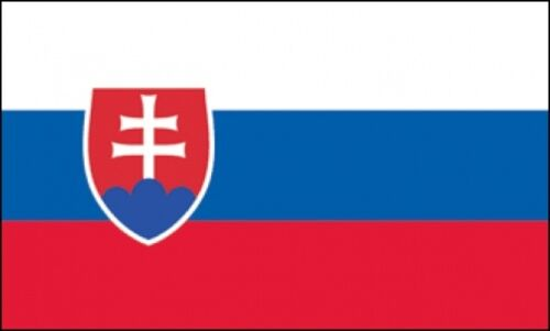 2/'x3/' Slovakia Crest Flag Outdoor Banner Pennant 2x3 European Country New