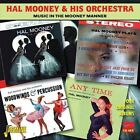 Music in the Mooney Manner: Four Original Albums * by Hal Mooney/Hal Mooney & His Orchestra (CD, Feb-2013, 2 Discs, Jasmine Records)