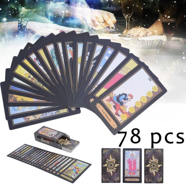Home, Furniture & DIY 78 Cards Wildwood Tarot Cards Deck Vintage Colorful Box Future Telling Game tarot