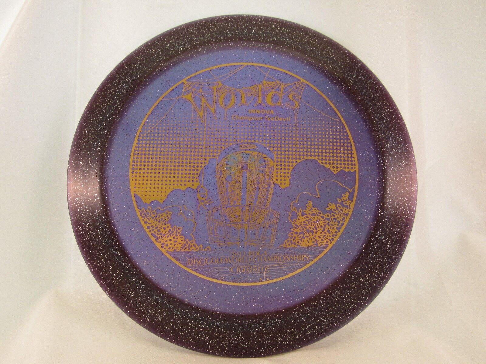 PRERELEASE INNOVA CHAMPION TEEDEVIL Purple gold 2012 Charlotte Worlds 171g -New