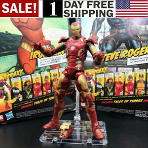 US-Marvel-Legends-6-034-Iron-Man-MK-43-Action-Figure-Armor-Age-of-Ultron-Avengers