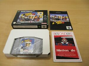 N64 Nintendo 64 juego-Bomberman 64-Embalaje original-pal-Top