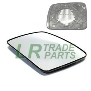 LAND-ROVER-DISCOVERY-3-NEW-FRONT-RHS-DRIVERS-O-S-HEATED-DOOR-WING-MIRROR-GLASS