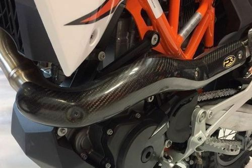 P3 Stock Exhaust Heat Shield For KTM 690 Enduro SMC 08-16 201082