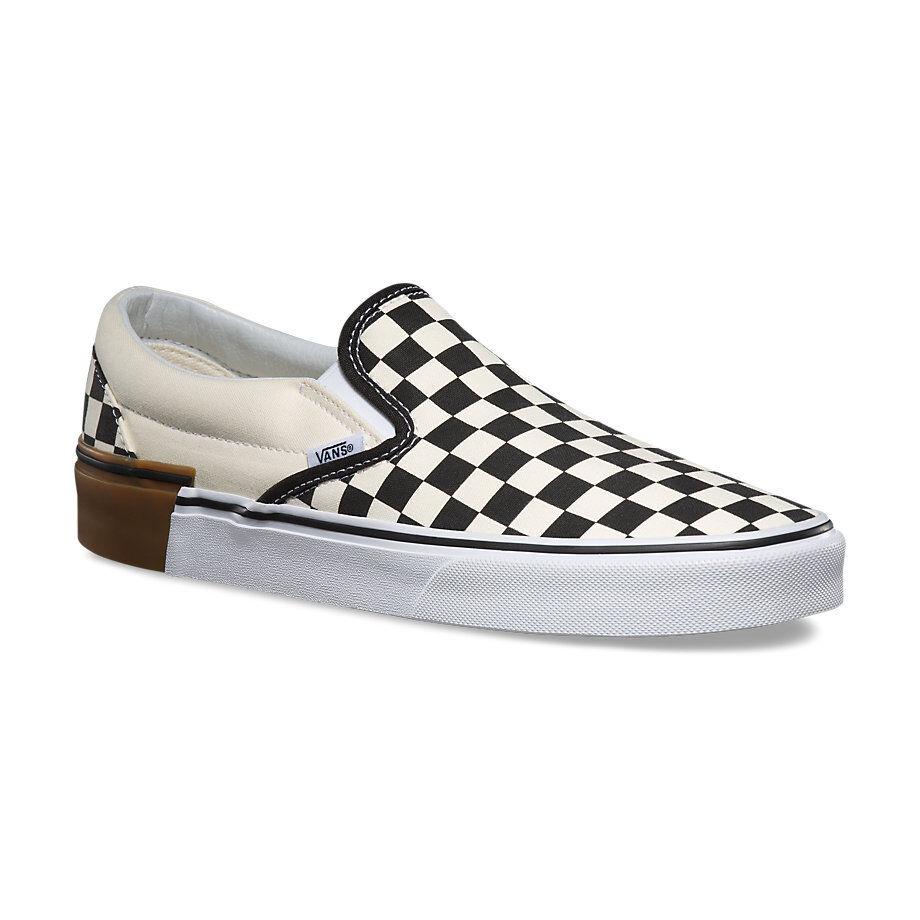 Sconto del 70% a buon mercato Vans Classic Slip On (Gum Block) Checkerboard Uomo Skate scarpe scarpe scarpe  Spedizione gratuita al 100%