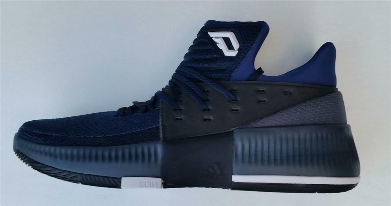 Adidas Para Hombre Zapatos de baloncesto de 3 mediados de arranque Dame 3 de Royal Nuevo bb8271 Reino Unido 11.5 dba773