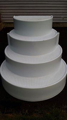 Wedding Cake Pool Stairs Ebay