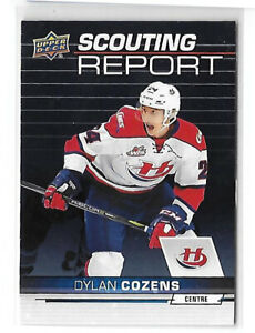 Dylan-Cozens-Buffalo-Sabres-2018-19-Upper-Deck-CHL-Scouting-Report
