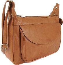 5d9f9e3bc0ef GIGI Othello Leather Shoulder Crossbody Handbag Bag 22-17 Various Colourways