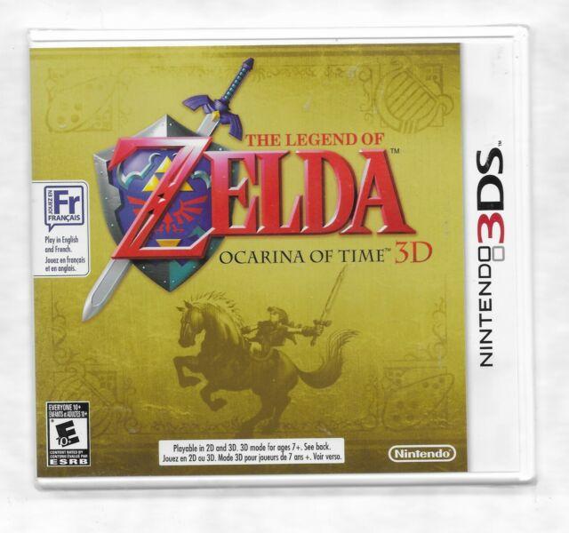 THE LEGEND OF ZELDA Ocarina of Time Nintendo 3Ds NEW