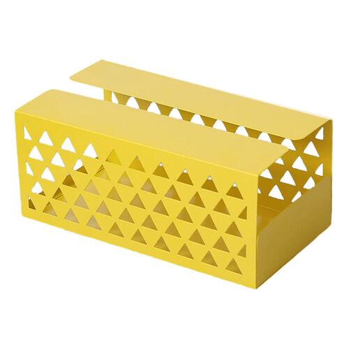 Tissue Dispenser for Kitchen Table Yellow 20.7x11x9cm Retro Napkin Holders