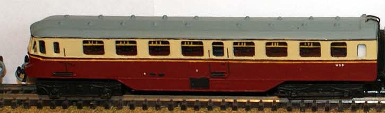 GWR Twin Railcar N Scale 1 148 UNPAINTED Model Kit B5 Langley Models