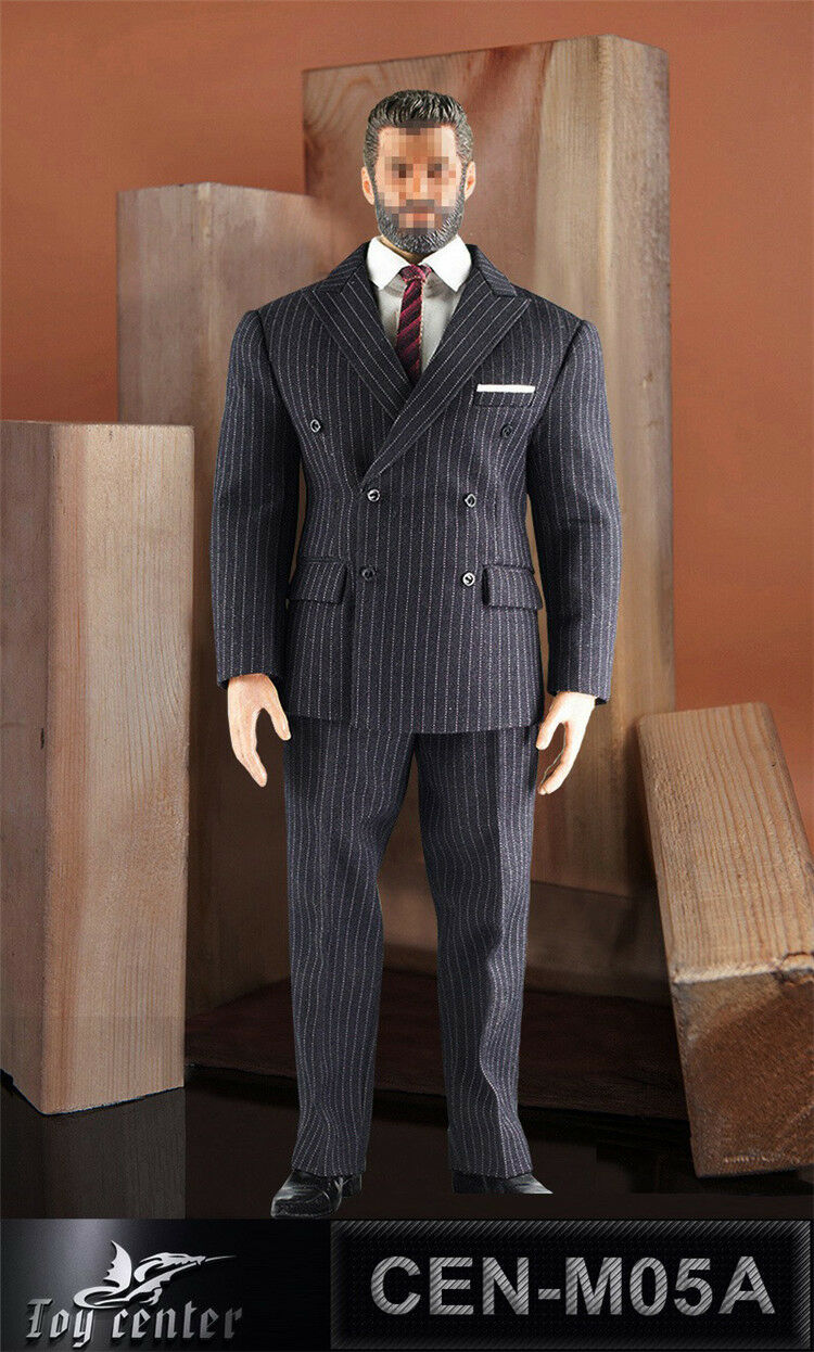 Toy Center 1 6 Soldier Model British Gentleman Suit CEN-M05A Fit Phicen M34 Body