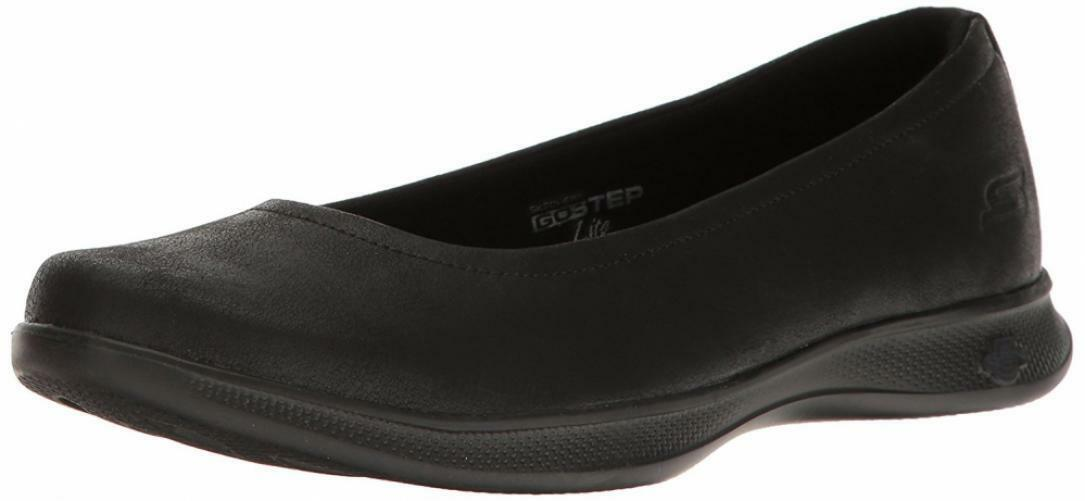 Skechers Women's Go Step Lite-Mystic Walking shoes Comfort Casual Slip-On Sandal