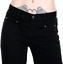 Run-amp-Fly-Ladies-Womens-Retro-60-039-s-70-039-s-Disco-New-Vintage-Wide-Leg-Flared-Jeans thumbnail 2