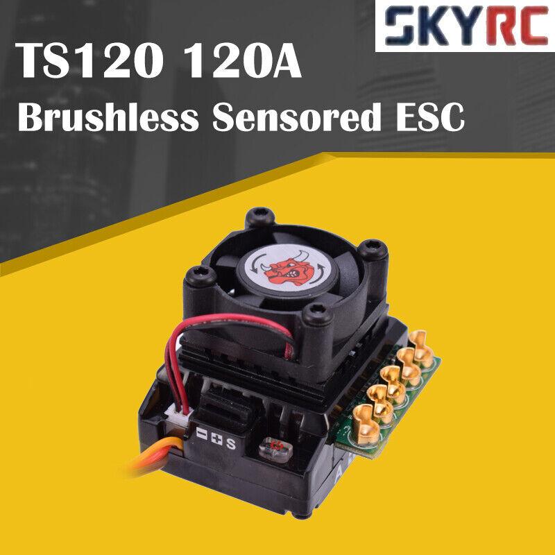 SKYRC Toro TS120 120A Aluminio sin escobillas Sensorojo Esc Esc para 1 10 1 12 RC Coche  forma única