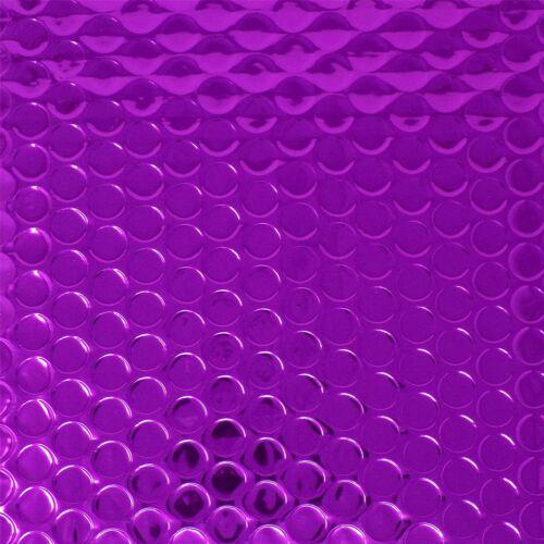 10 violet 165mm x 165mm cd brillant métallisé bulle rembourré sac courrier enveloppes