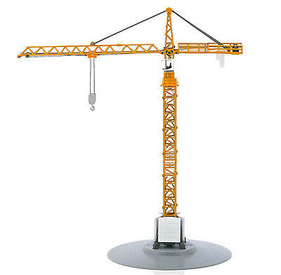 Siku Super 1899 1:87 Liebherr Construction Site Tower Slewing Crane Model