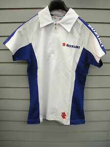 women's fitted white polo shirt