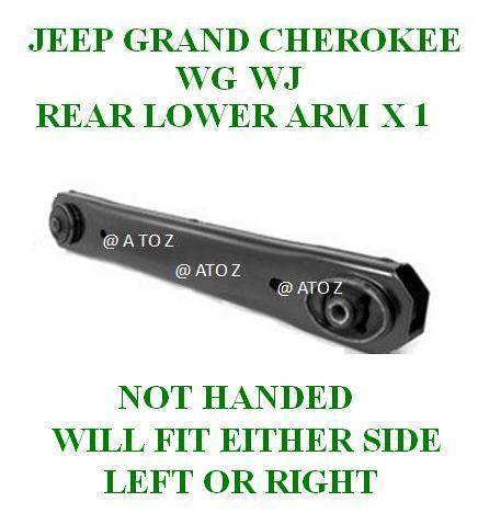 JEEP Grand Cherokee WJ WG suspension arrière inférieur clavicule bras contrôle lh ou rh