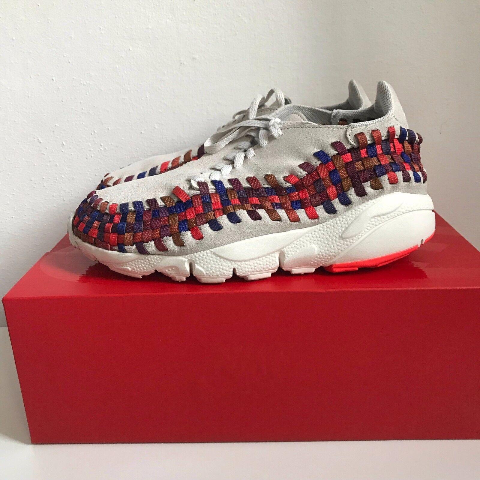 Nike Air Footscape Woven Light Bone Multicolor Rainbow US6 UK5.5 EUR38.5 CM24