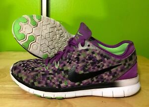 the latest f4c74 f9474 Image is loading Womens-NIKE-Free-TR-Fit-5-Shoes-Size-
