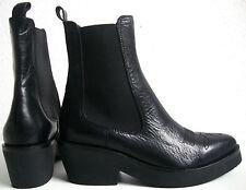 ASH SHAKE Plateaustiefelette Damen Stiefelette Stiefel Leder Schuhe Gr.37 NEU